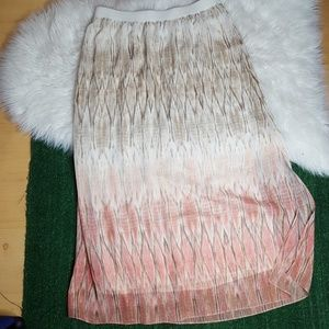 Chico's skirt   size 2 (12)